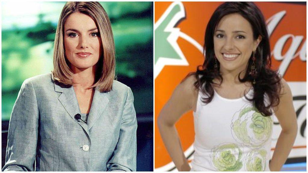 Letizia Ortiz y Carmen Alcayde coincidieron en un máster de Periodismo Audiovisual.