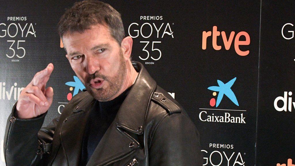 """Antonio Banderas: """"La gala de los Premios Goya será híbrida: telemática y en directo"""""""