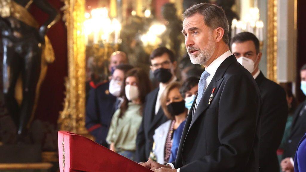 """El Gobierno asegura que Felipe VI se vacunará """"cuando corresponda"""" y que no se ha enviado vacuna al rey emérito"""