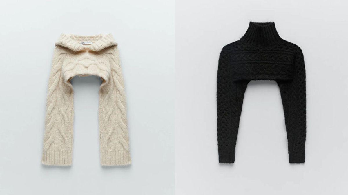 El jersey de manguitos de Zara, la prenda incomprendida que se ha convertido en tendencia
