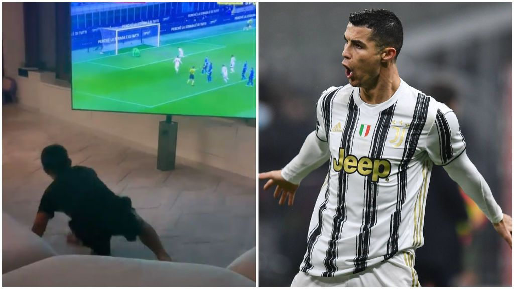 Cristiano Ronaldo marcó un doblete al Inter de Milán.
