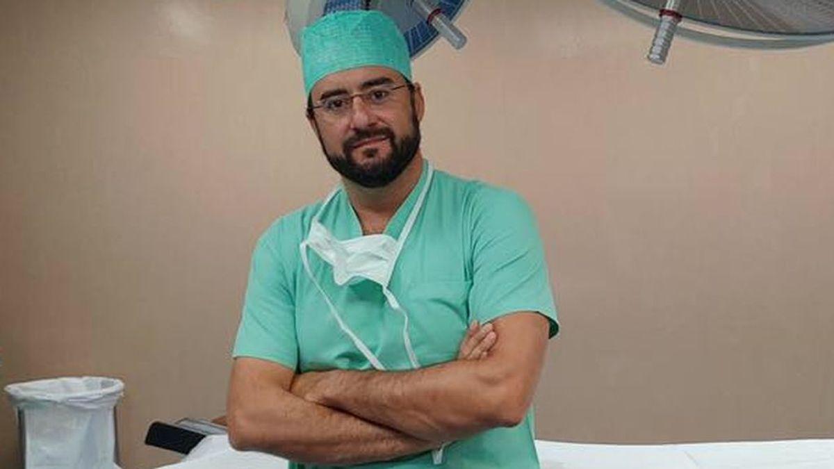 Javier Gallego trabaja como cirujano cardiotorácico en Portugal desde hace 20 años