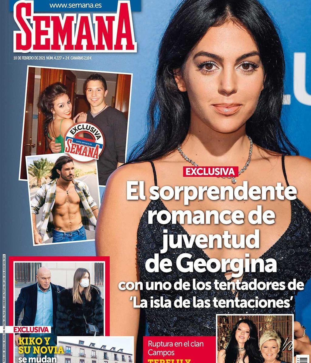 Georgina Rodríguez, en la portada de Semana