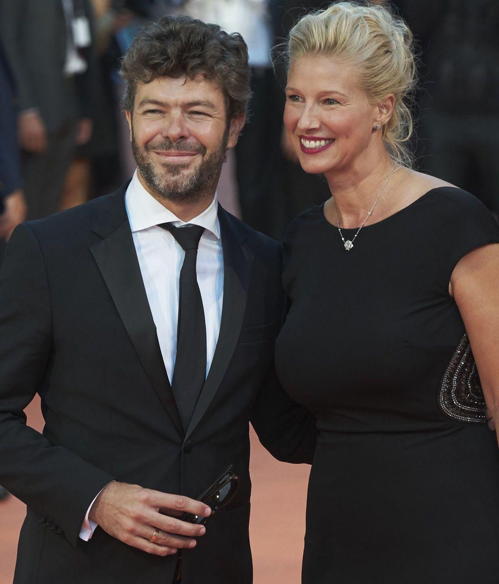 Anne Igartiburu y su marido, Pablo Heras-Casado