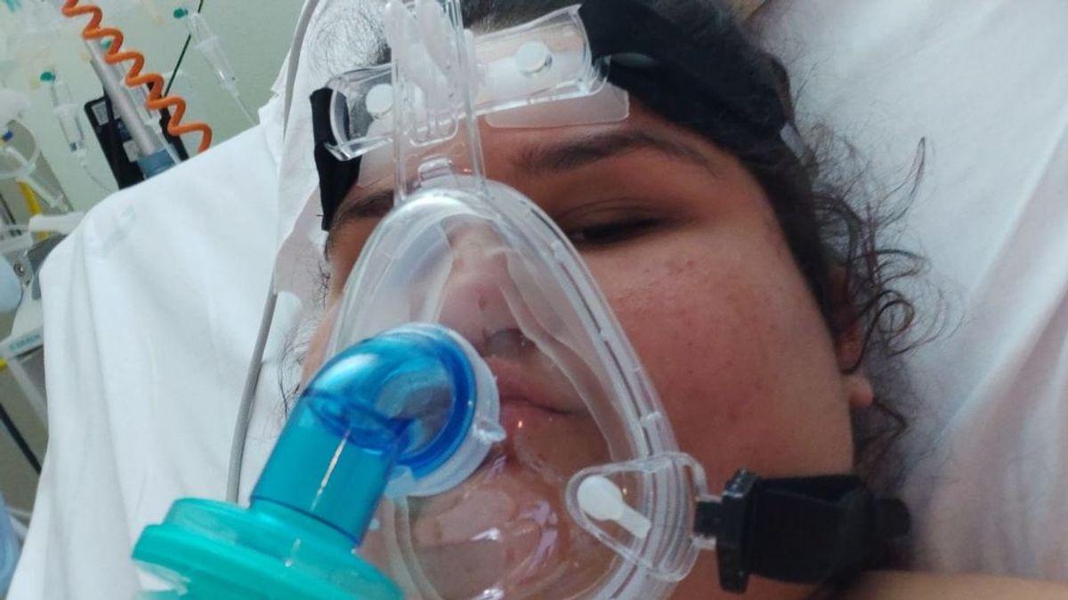 María, 14 años, tres días en la UCI por la Covid-19