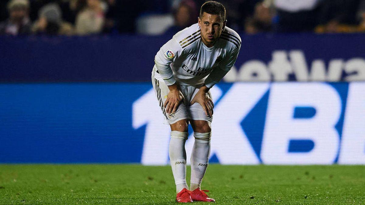 Hazard, destrozado tras lesionarse de nuevo: mentalmente, no puede más