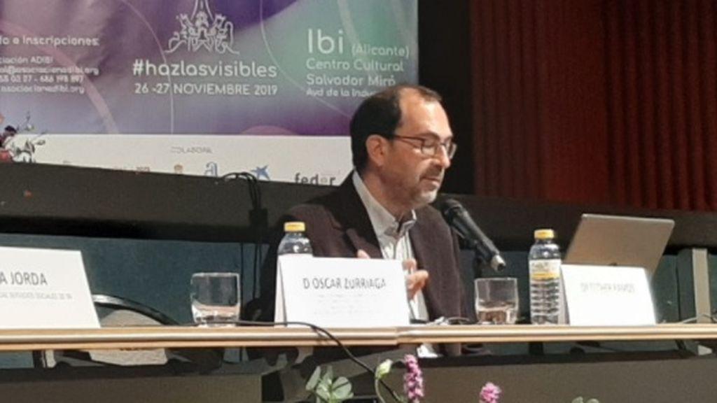 El vicepresidente de la SEE, Óscar Zurriaga