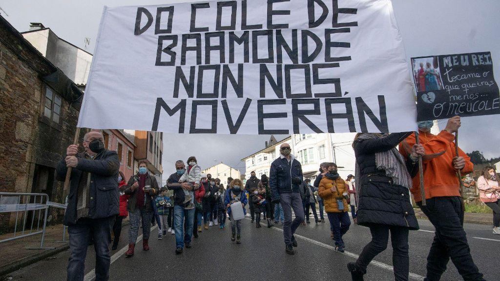 Protestas vecinales en Baamonde