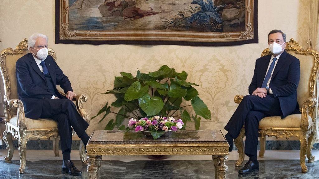 El presidente Mattarella encarga a Draghi formar gobierno en Italia
