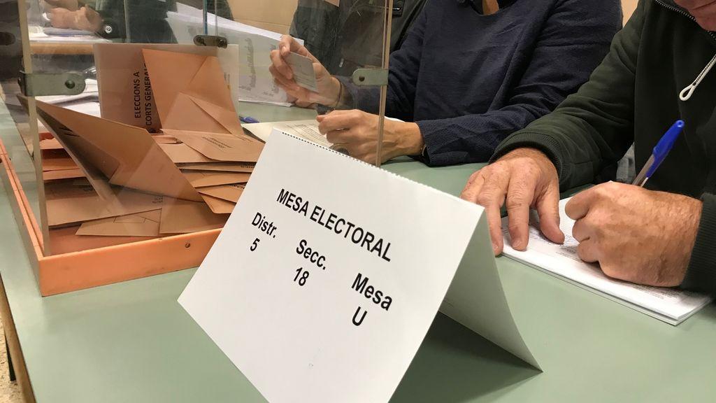 Un 25% de los miembros de mesa de las elecciones catalanas han presentado alegaciones para eximirse