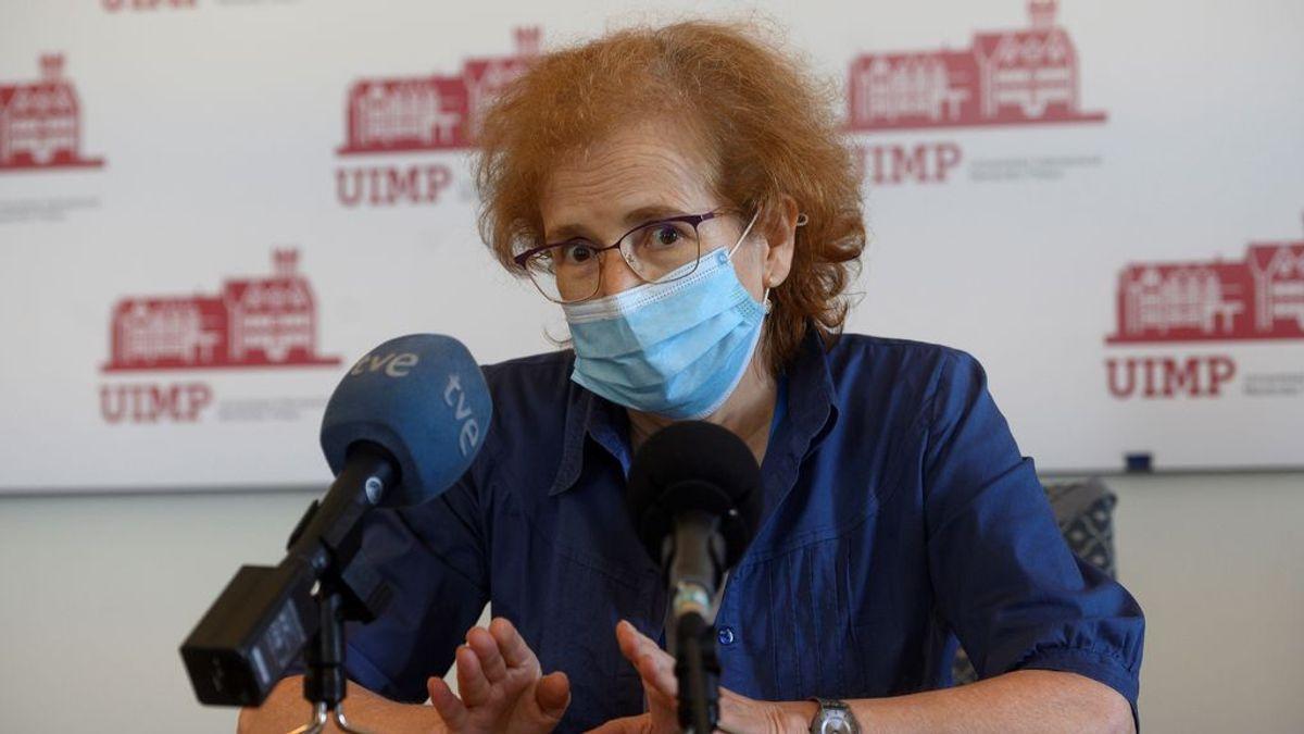 La reflexión de la viróloga Margarita del Val sobre el efecto de las vacunas para las variantes del virus