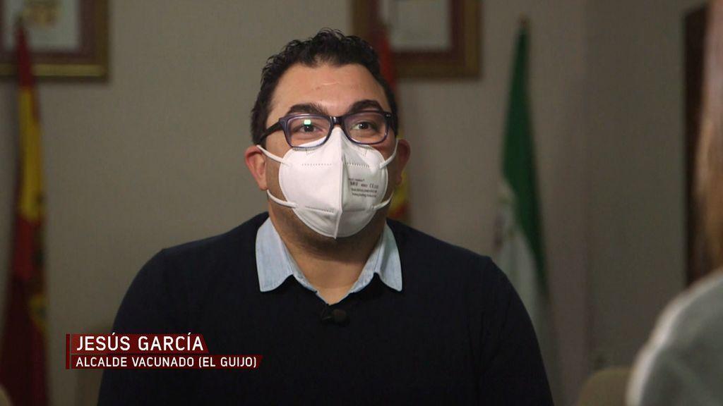 Entrevista alcalde El Guijo vacunado