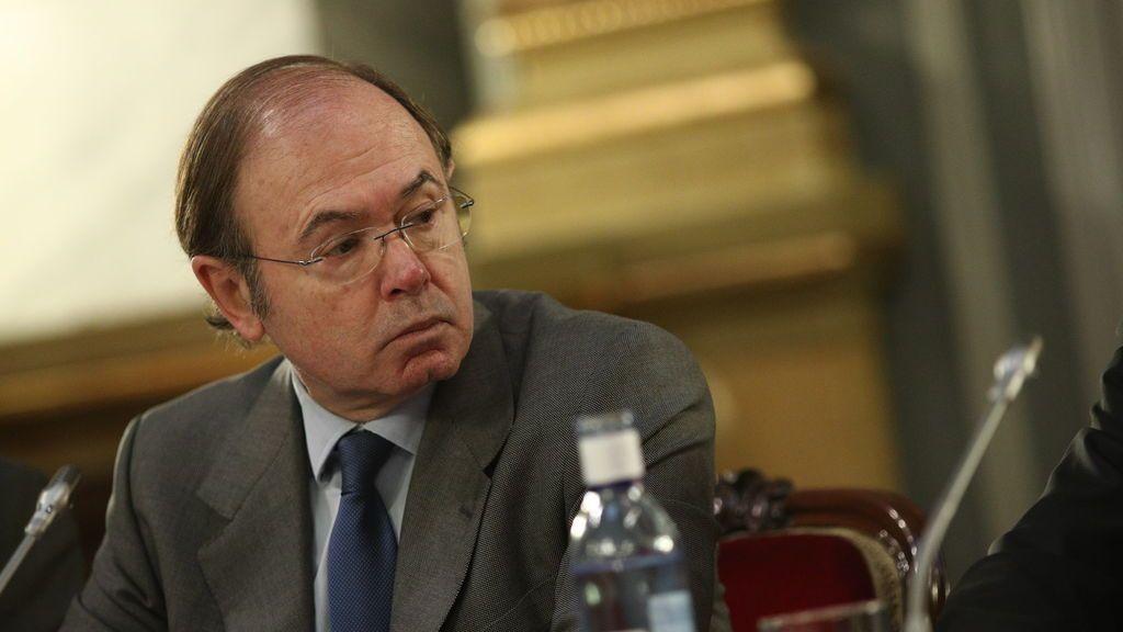 El Senado paga 33.000 euros al pintor Pedro de Oriol para retratar al expresidente Pio García-Escudero