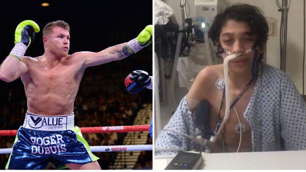 """El emotivo vídeo de Canelo Álvarez para conseguir un trasplante de riñón para un niño: """"Que se cumpla su milagro"""""""