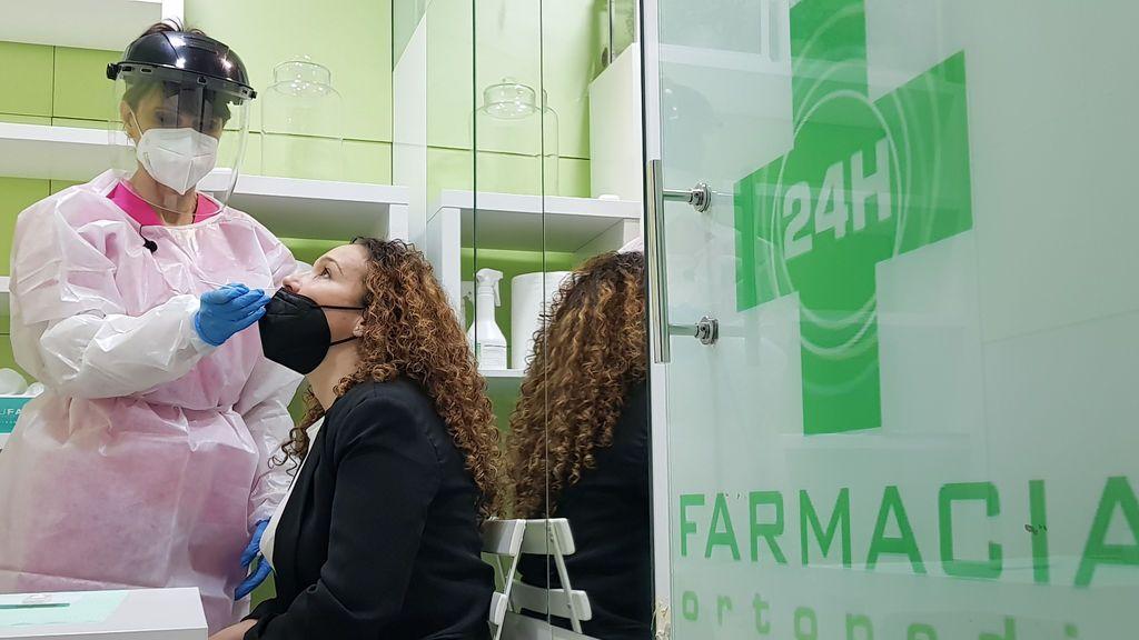 Comienzan los test de antígenos en farmacias en Madrid