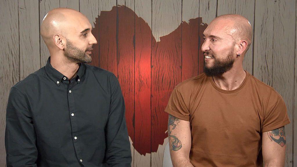 José y Sergio buscan el amor en 'First Dates'