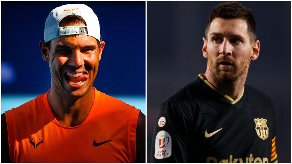 Rafa Nadal cree que el Barcelona paga lo que cree a Messi.