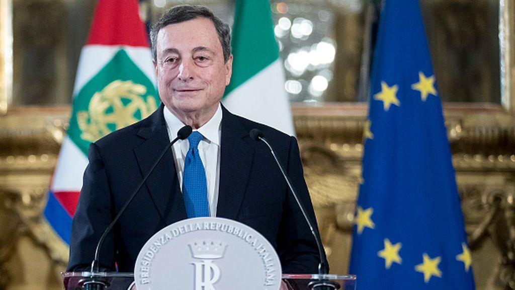 Renzi apoya a Draghi para formar gobierno en Italia