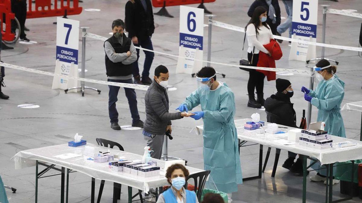 España mantiene los contagios a la baja