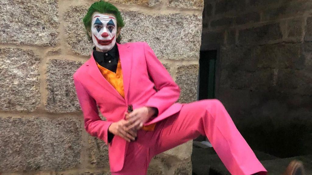 Disfrazado de Joker