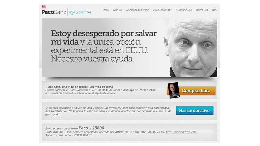En su página web, Sanz facilitaba los tres métodos para conseguir dinero de forma ilícita.