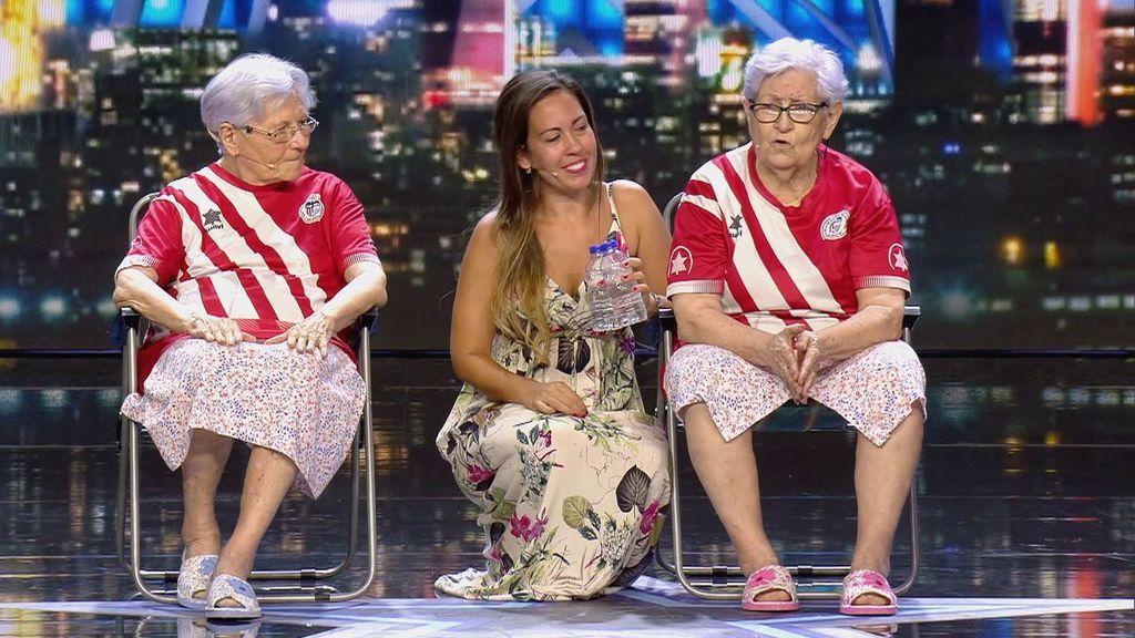 Las abuelas tiktokers, en 'Got Talent'