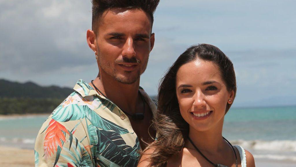 Manuel y Lucía, en 'La isla de las tentaciones'