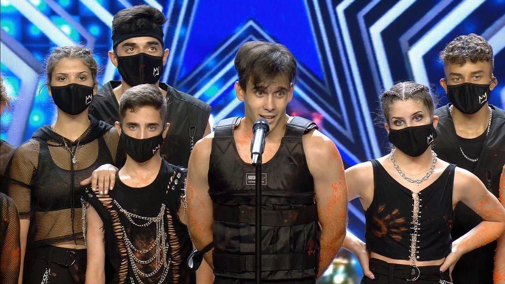 El inicio de actuación de Boombap Dance Studio sorprende al jurado