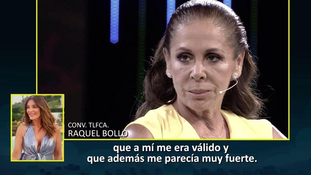 Raquel Bollo se sienta en 'Domingo deluxe'