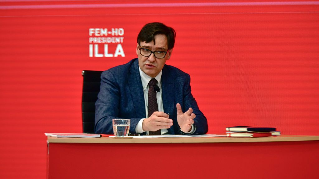 Illa se compromete a rebajar el sueldo de president de la Generalitat al del lehendakari, un 30% menos