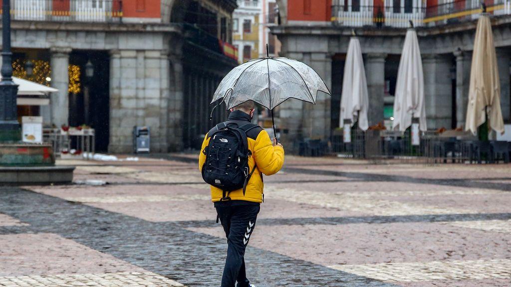 Las temperaturas se desploman hasta 10 grados este fin de semana y vuelven las lluvias