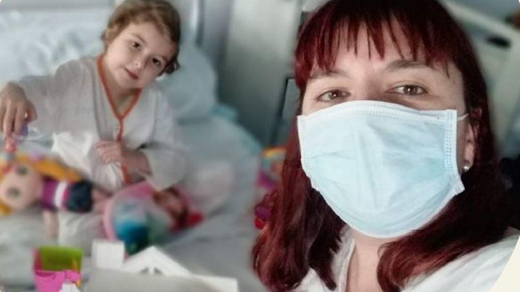 La soledad completa de Lucía, una niña de cinco años con leucemia que lleva cinco meses aislada en una habitación de hospital