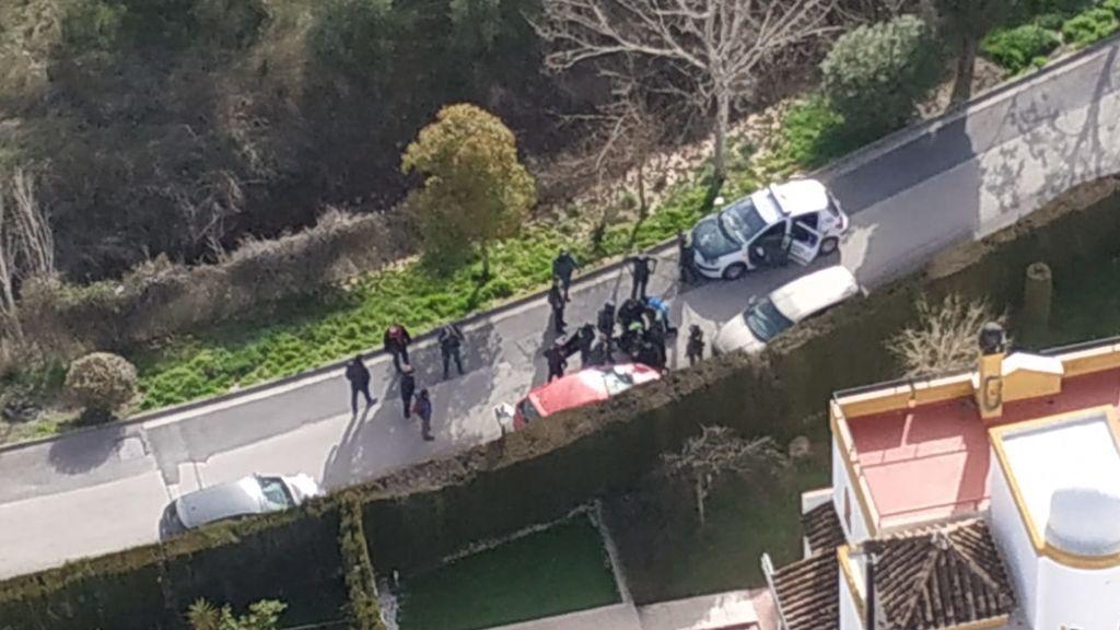 Una joven en estado crítico tras ser apuñalada en una oficina en Granada
