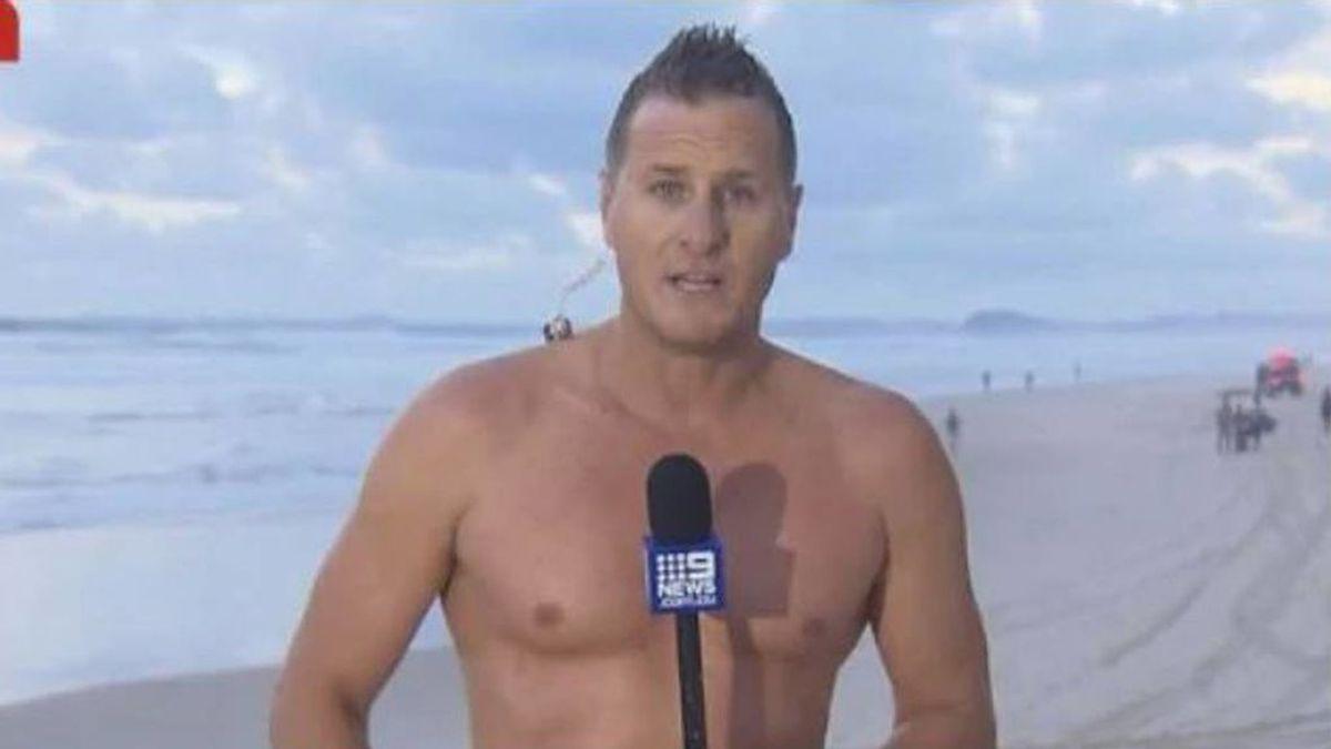 Un presentador del tiempo se lanza al mar para rescatar a una persona: la víctima ya había fallecido