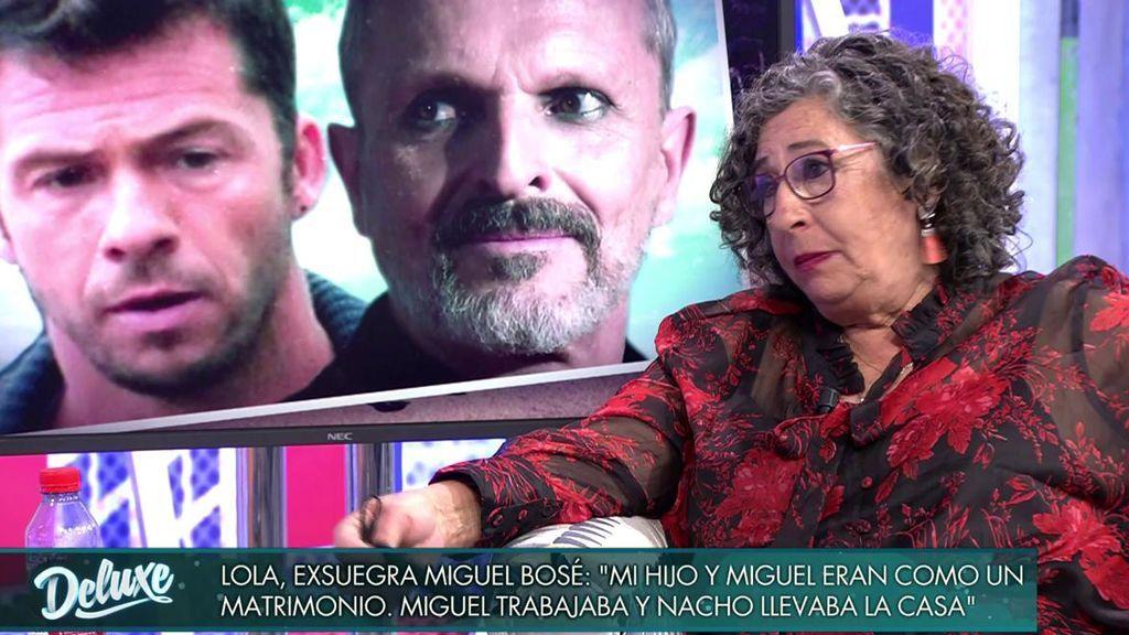 Lola habla sobre la ruptura de Nacho y Bosé