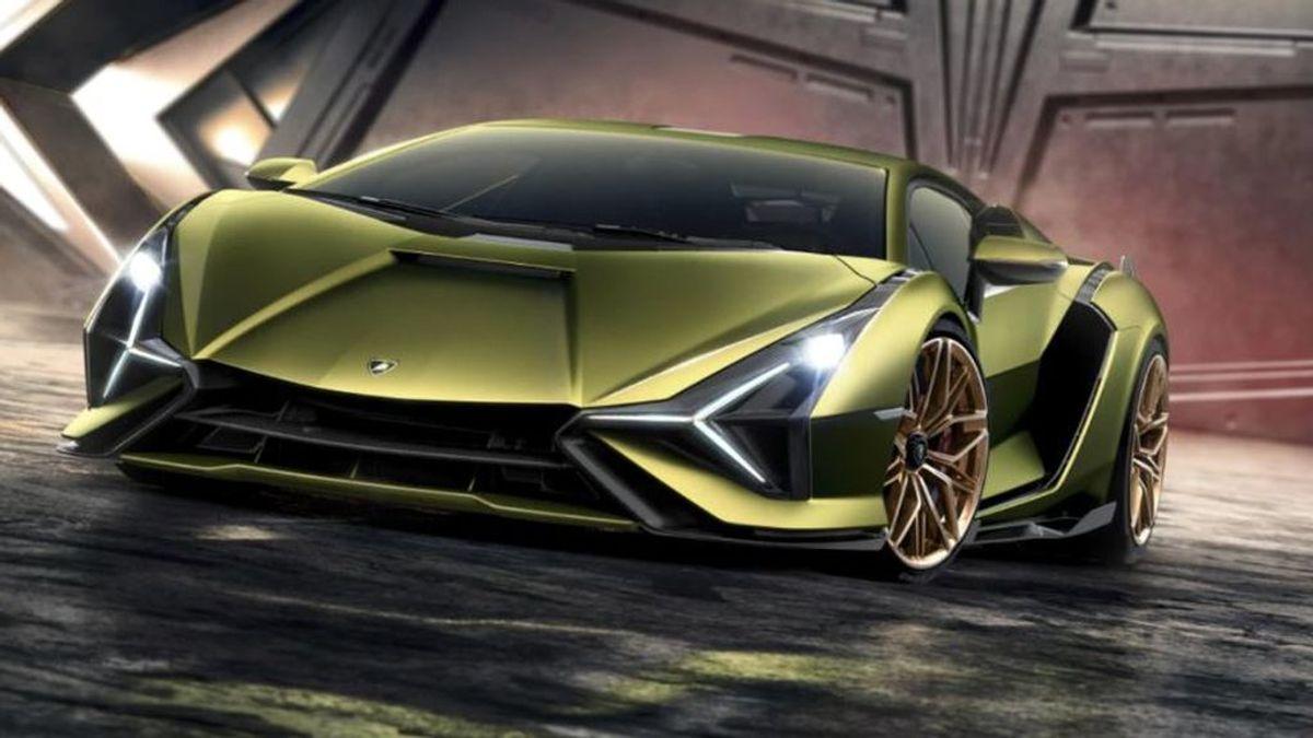 Lamborghini Sián, el coche mas rápido de Lamborghini