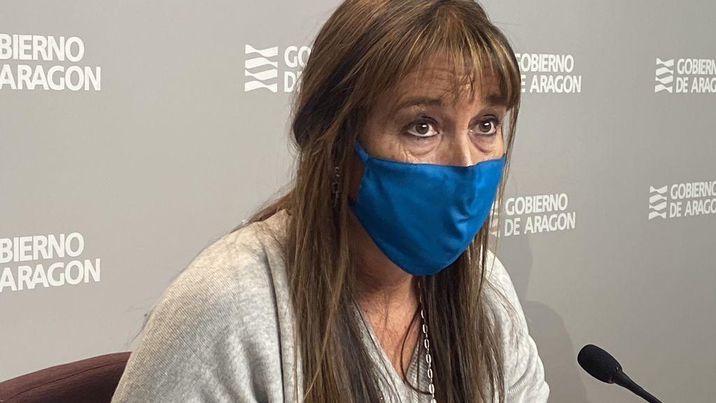 La consejera de Sanidad cree que Aragón sufrirá una quinta ola, pero más atenuada gracias a la vacuna