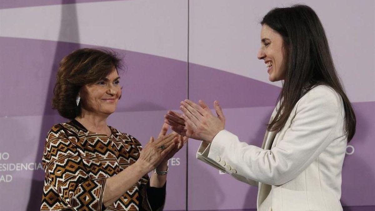 """Montero, a Calvo: """"La identidad de género no es un capricho, es un derecho fundamental"""""""