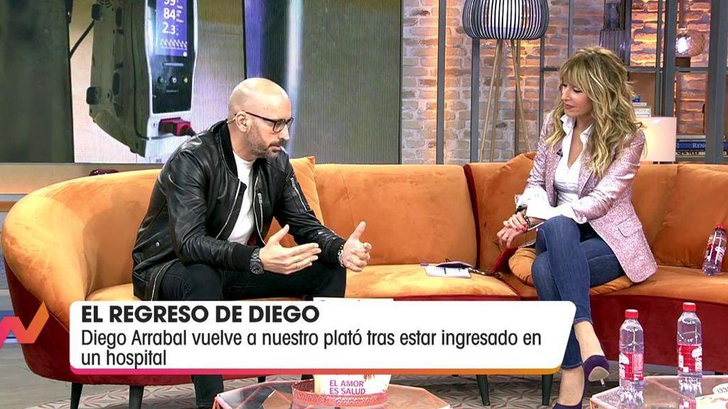 Diego Arrabal habla con Emma García