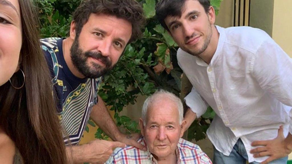 Francisco Mármol y su familia