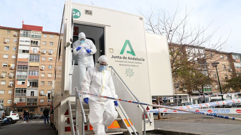 Andalucía registra la cifra más baja de la semana con 3.685 casos covid y 28 muertes