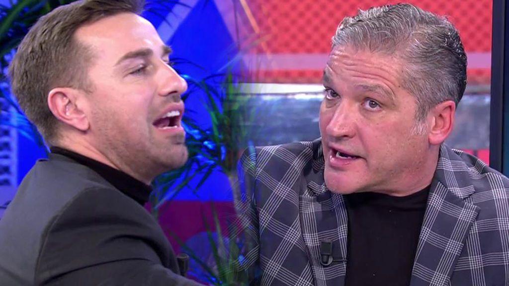 Gustavo González y Rafa Mora protagonizan una discusión