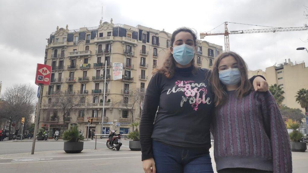 Dos hermanas de Barcelona en riesgo de desahucio por no poder afrontar la subida del alquiler de 450€ a 950€