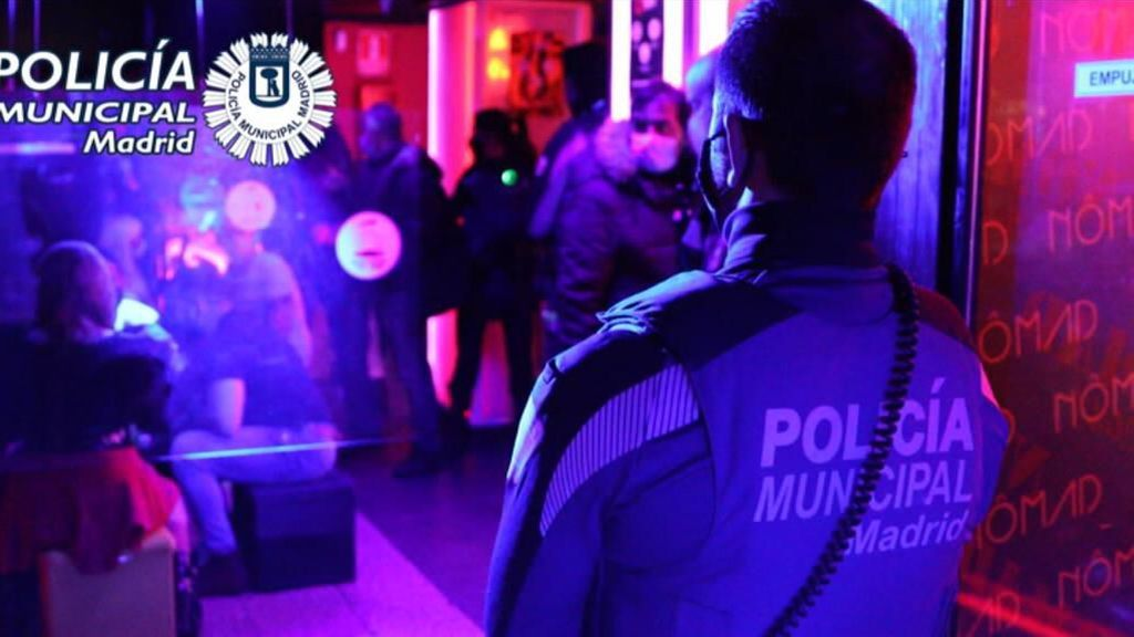 La Policía Municipal interviene en más de un centenar de fiestas ilegales en Madrid