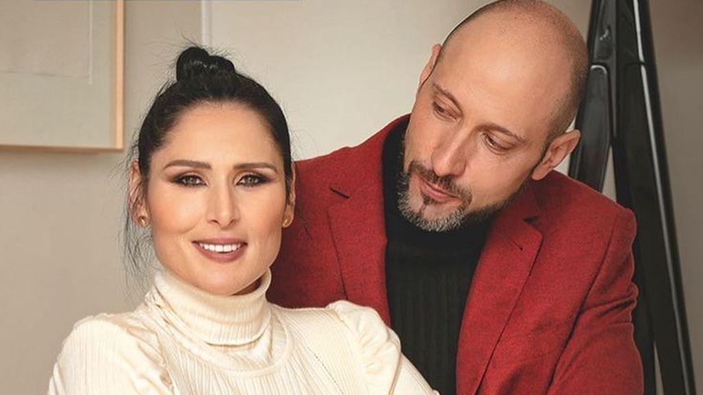 Rosa López se viste de novia tras anunciar su compromiso vital con Iñaki García, su novio