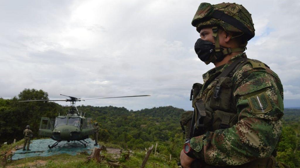 Colombia confirma la muerte del segundo al mando del Clan del Golfo, alias 'Marihuano'