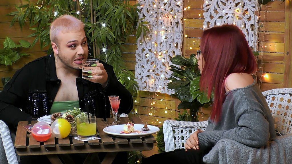 Alberto y Andrés en el programa 'First Dates'