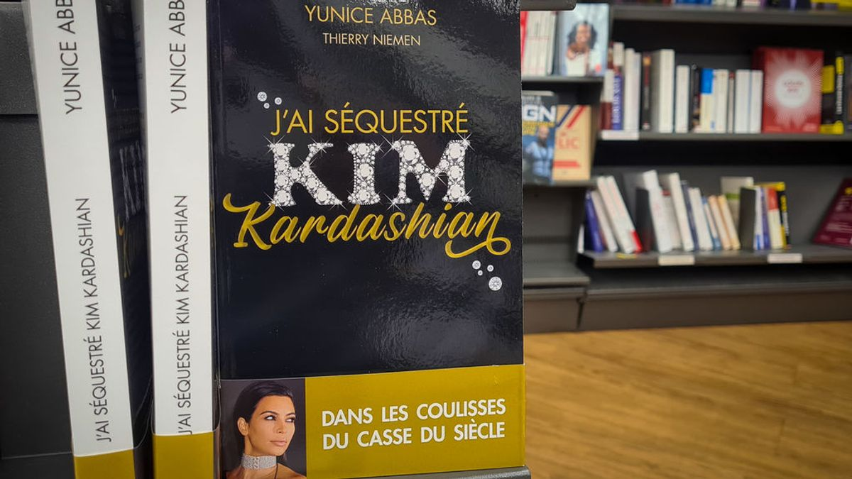 'Yo secuestré a Kim Kardashian': el atracador Yunice Abbas cuénta el robo de siglo en un libro