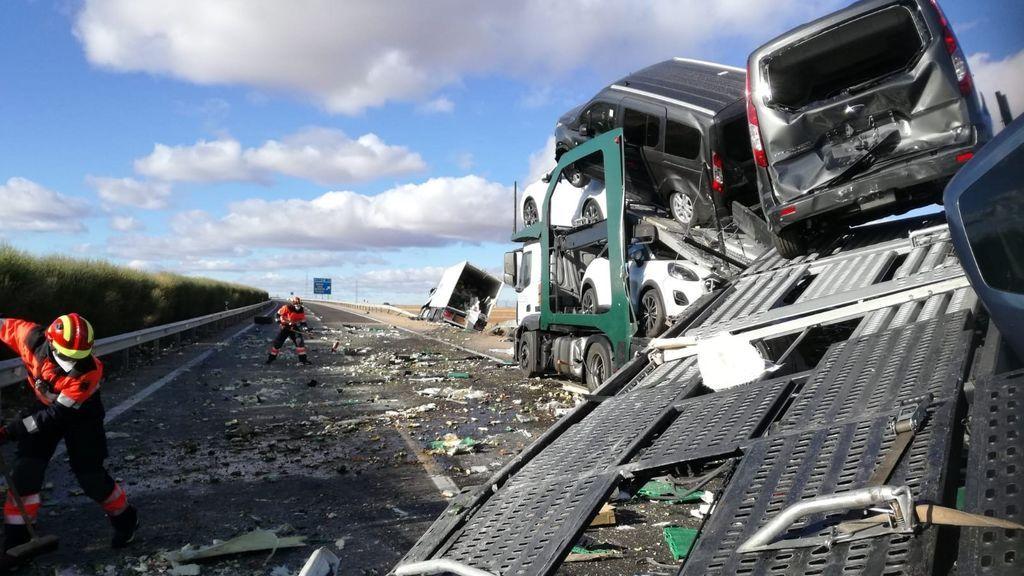 La DGT intensifica los controles a camiones y autobuses, implicados en el 7% de accidentes