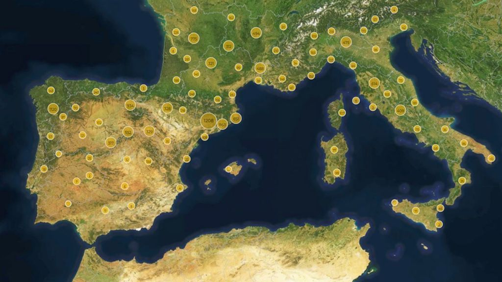 mapa medieval
